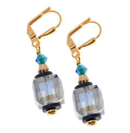 Refraction Cube Earrings- Short