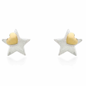 You're A Star With A Heart of Gold Earrings