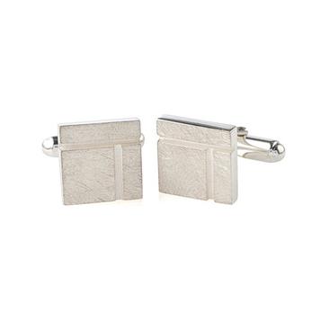 Ogham Birch - Square cufflinks