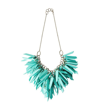Turquoise V Shape Necklace