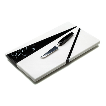 Marmar Nero Cheeseboard and Knife Set