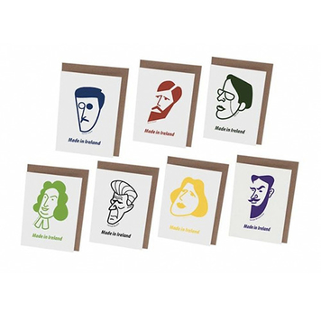 Irish Men Writers Card Set