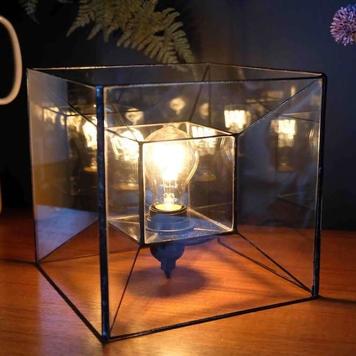 Tesseract Lamp