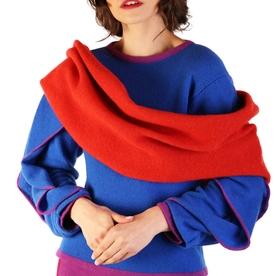 Tweed Infinity Scarf