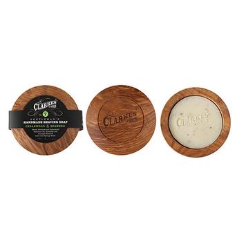 NO 7. Handmade Irish Ash shaving bowl & No 7. Shaving soap