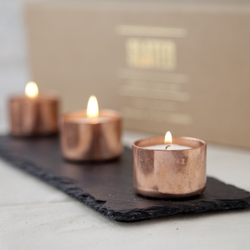 Copper Candle Trio