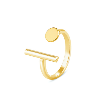 Circle of Hope Ring in Solid Gold