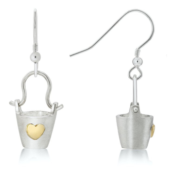 Bucket of Love Earrings