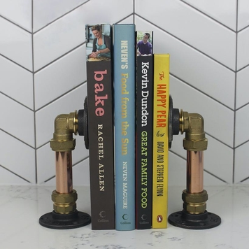 Industrial Book End Set