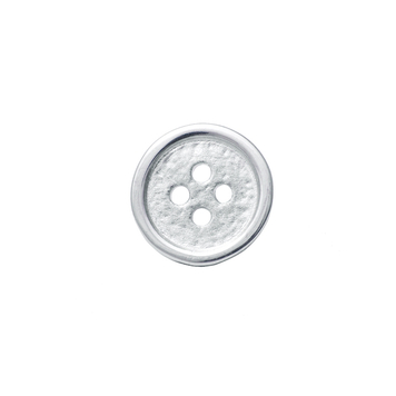 Button Pin in Sterling Silver