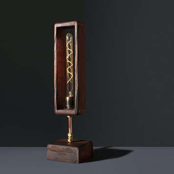 Ballast table lamp