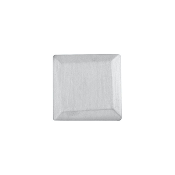 Bevelled Square Pin in Sterling Silver