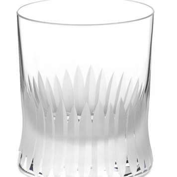 Crystal whiskey glasses V
