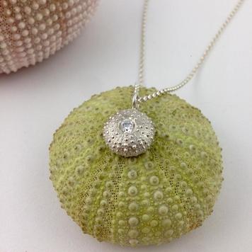 Large Broken Sea Urchin Necklace