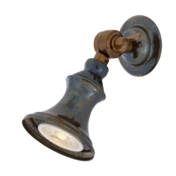 Accra Traditional Brass Spot Light Small