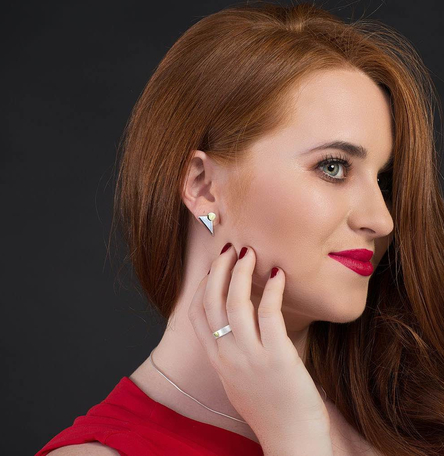Courage Stud Earrings