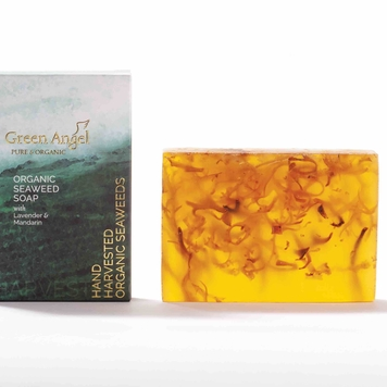 Seaweed soap with Lavender and Mandarin