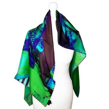 100% Silk Twill 90x90 Scarf