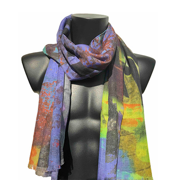 70% Wool 30% Silk,70X180CM
