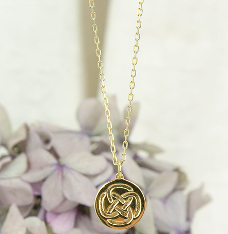Inner Strength Small Dara Knot Necklace