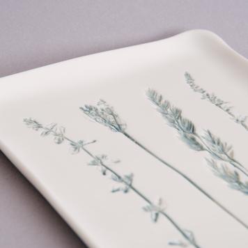 Rectangle Meadow Mix Platter