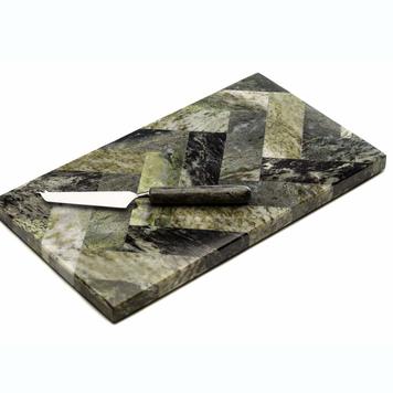 Herringbone Cheeseboard and Knife Set