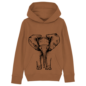 Elephant Hoodie Caramel