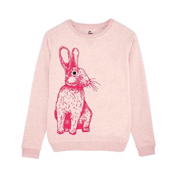 Pink Rabbit Sweatshirt