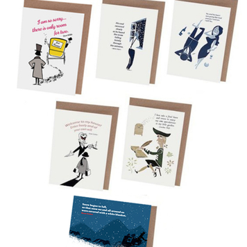 Irish Literature Card Set