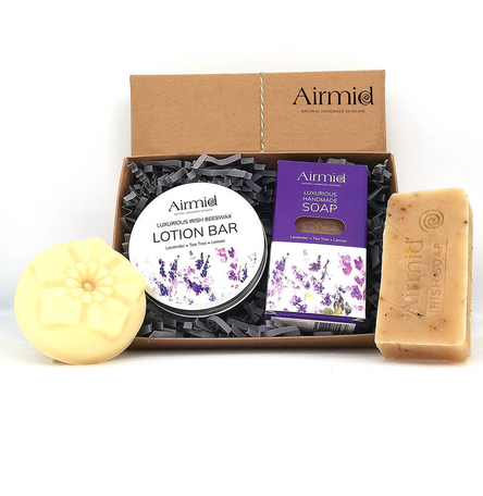 Airmid Lavender Soap & Lotion Set