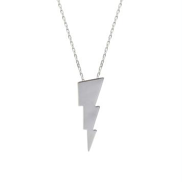Triple Bolt Pendant Silver