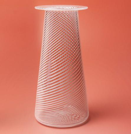 Filigrana cone vase