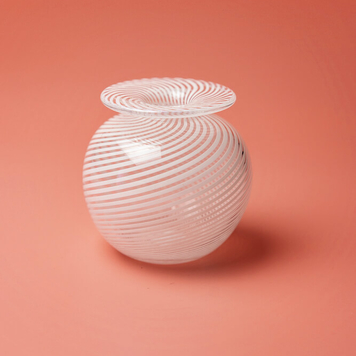 Filigrana round vase