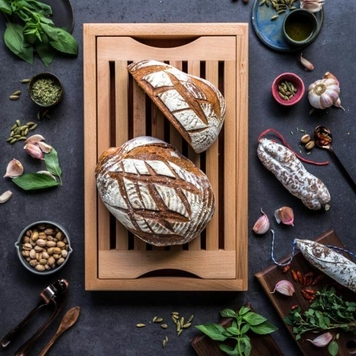 Crumb Catcher Breadboard