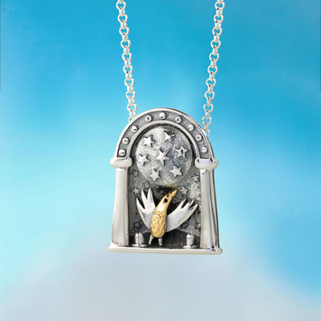 The World's A Stage Pendant