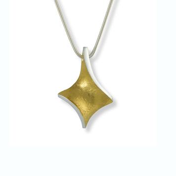 Golden Twist pendant