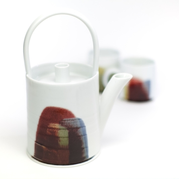 Teapot 'Earth, Fire and Water' collection