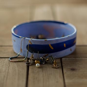 Small Blue Dish
