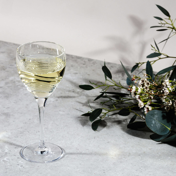 Tonn White Wine Crystal Glasses