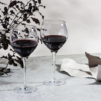 Tonn Red Wine Crystal Glasses