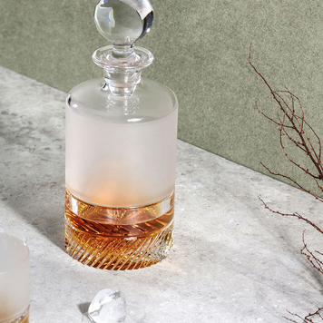 Ceo Crystal Whiskey Decanter