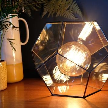 Medium Dodecahedron Lamp