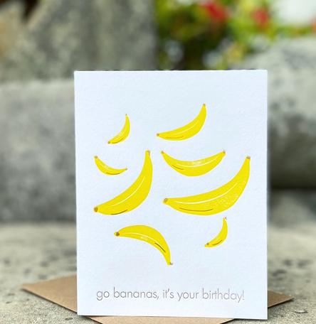 Go Bananas on your Birthday
