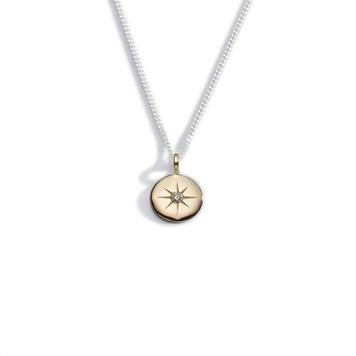 Light my way diamond pendant - Small