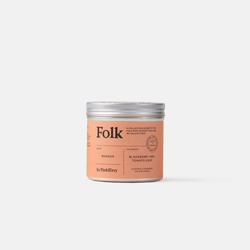 Wander Folk Tin Candle