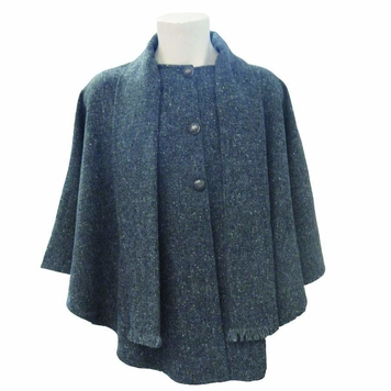 Donegal Tweed Cape