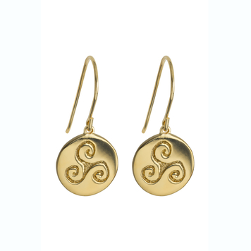 Progress Gold Plated Earrings