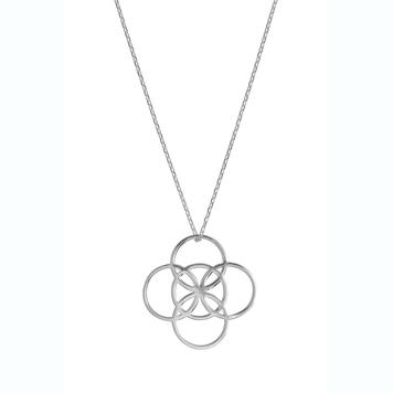Serenity Silver Pendant