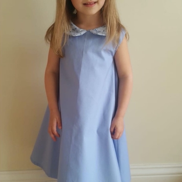 Blue Liberty Dress