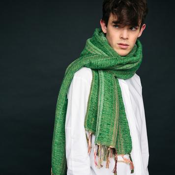 Emerald Handwoven Críos Wrap
